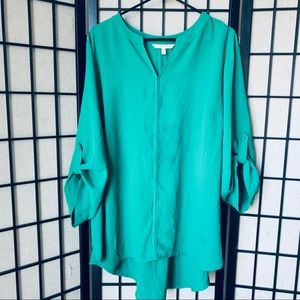Stitch fix 41 Hawthron green tunic sz 3X